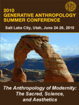 Generative Anthropology Summer Conference